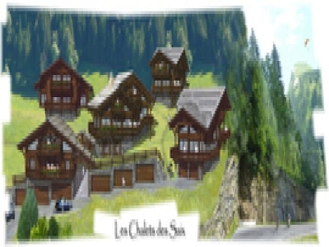 B-SAIXC - OFF PLAN CHALET WITH A GARDEN : 4 BEDROOMS EN SUITE AND ...