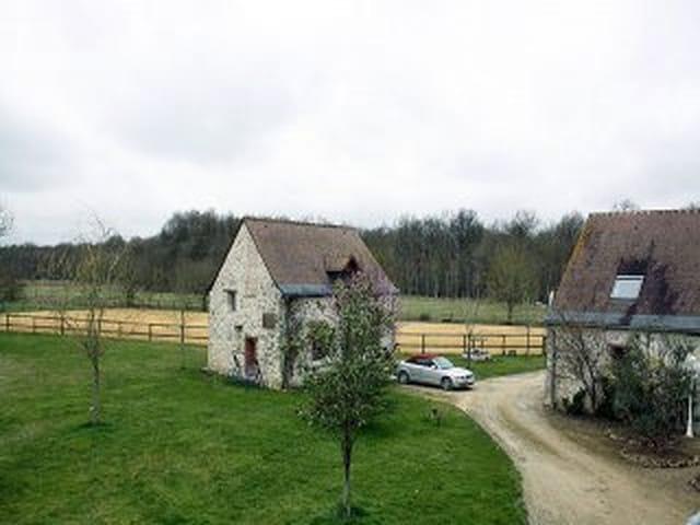 Boerderij paarden domein te koop indre et loire frankrijk for Boerderij paardenstallen te koop
