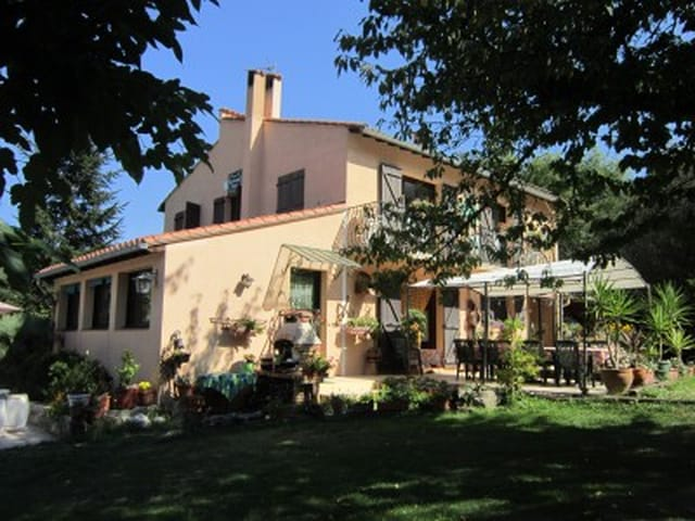 Large Country House Near Vernet Les Bains 8400m2 Of Land And
