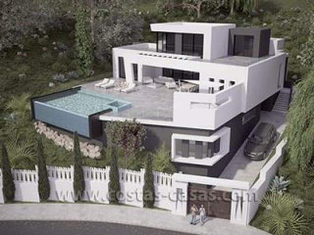 Nieuwe Moderne Luxe Villa Te Koop Marbella Moulin