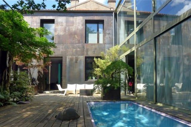 A 200 Metres De Paris Maison D Architecte Avec Jardin Japonais Et