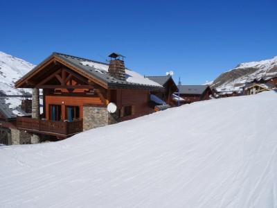 ski chalet on the slopes for sale les menuires savoie alps moulin