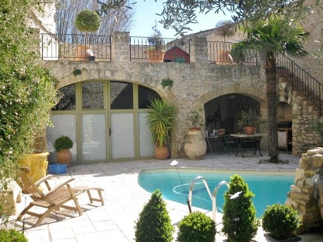 Maison De Maitre Avec Piscine A Vendre Gard Languedoc France Moulin