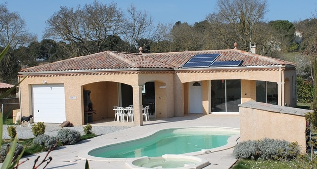 Villa met zwembad te koop carcassonne aude languedoc for Te koop inbouw zwembad