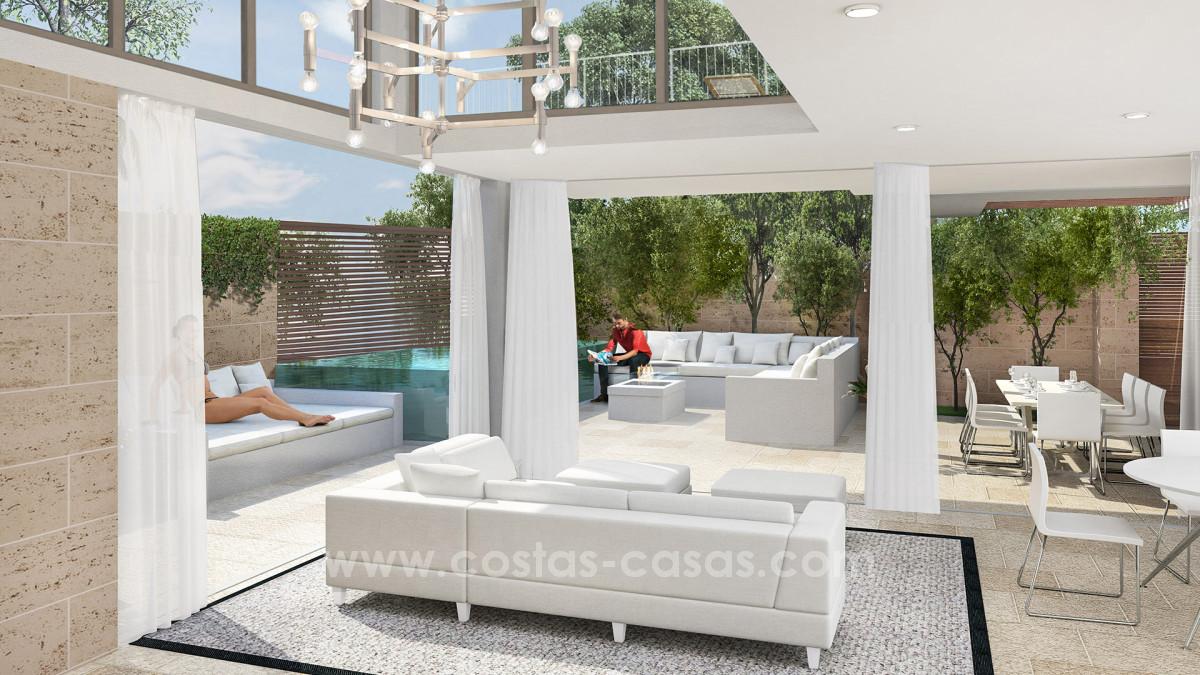 New luxury modern apartments and villas in mijas costa del sol moulin