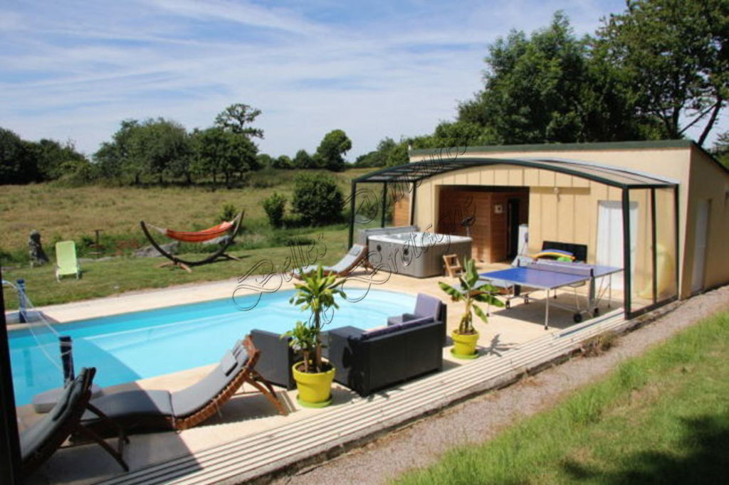For Sale Stone Property With Swimming Pool On 4 Hectares, Côtes Du0027Armor,  Brittany, France | Moulin