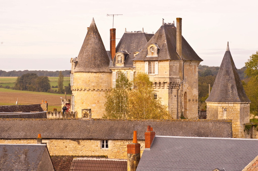 chateau for sale touraine  indre
