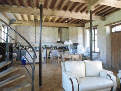 Chartreuse, Guest House, Barn, Swimming Pool For Sale Lot At Garonne. |  Moulin