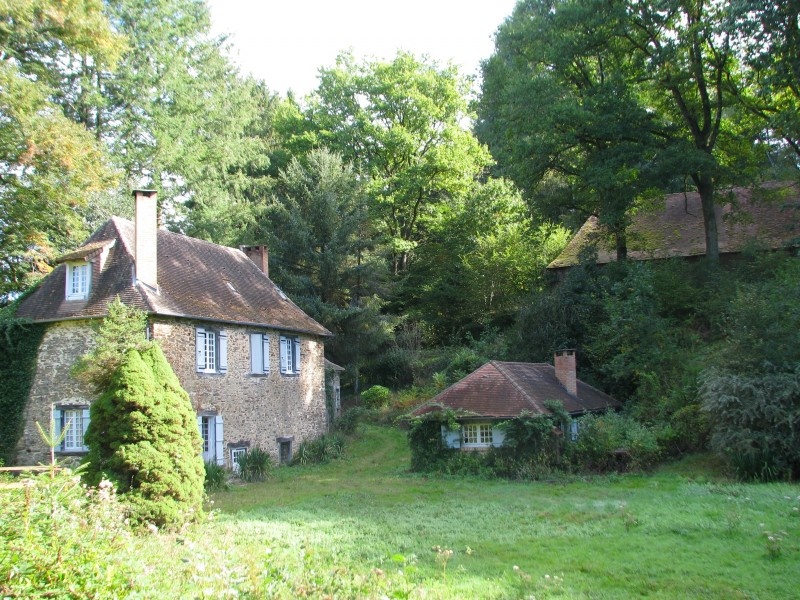 Ancient Water Mill For Sale With Gites And Lake On 2 7 Ha