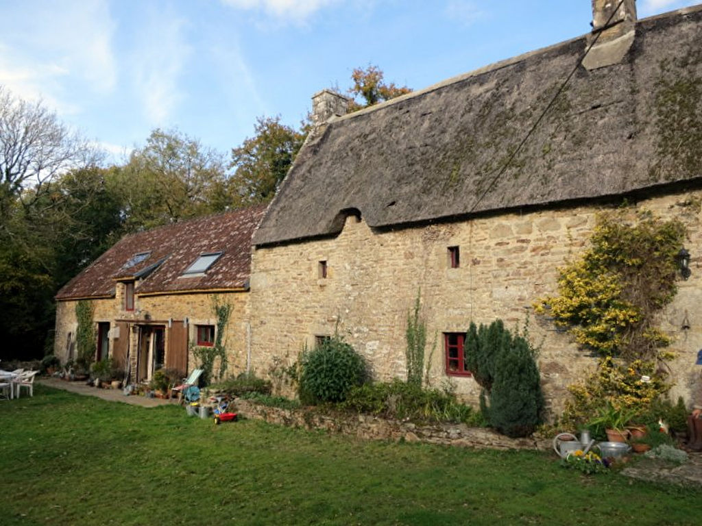 For Sale Beautiful Cottage Swimming Pool And Outbuilding Morbihan Brittany Moulin