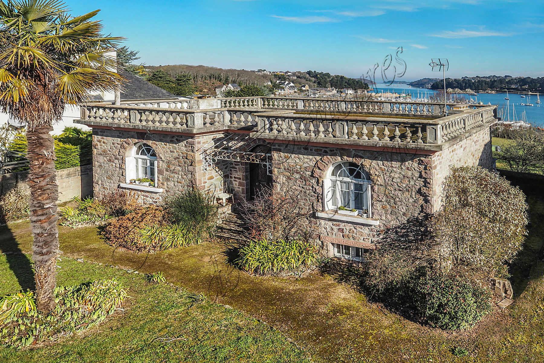 A vendre villa baln aire vue mer c tes d 39 armor bretagne moulin - Demeure de charme dom architecture ...