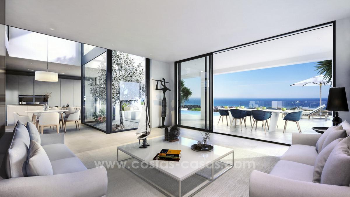 New modern detached villas for sale in la cala de mijas moulin