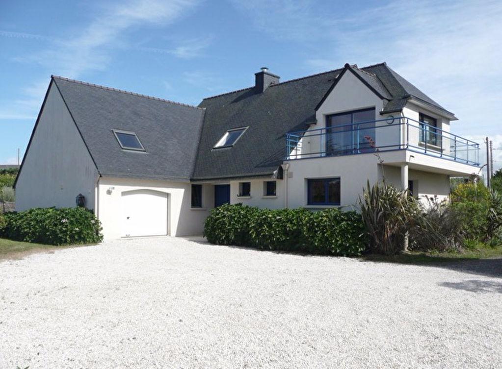 Te koop mooi modern huis strand aan einde van de tuin plouguerneau finist re bretagne moulin - Te dekken moderne tuin ...