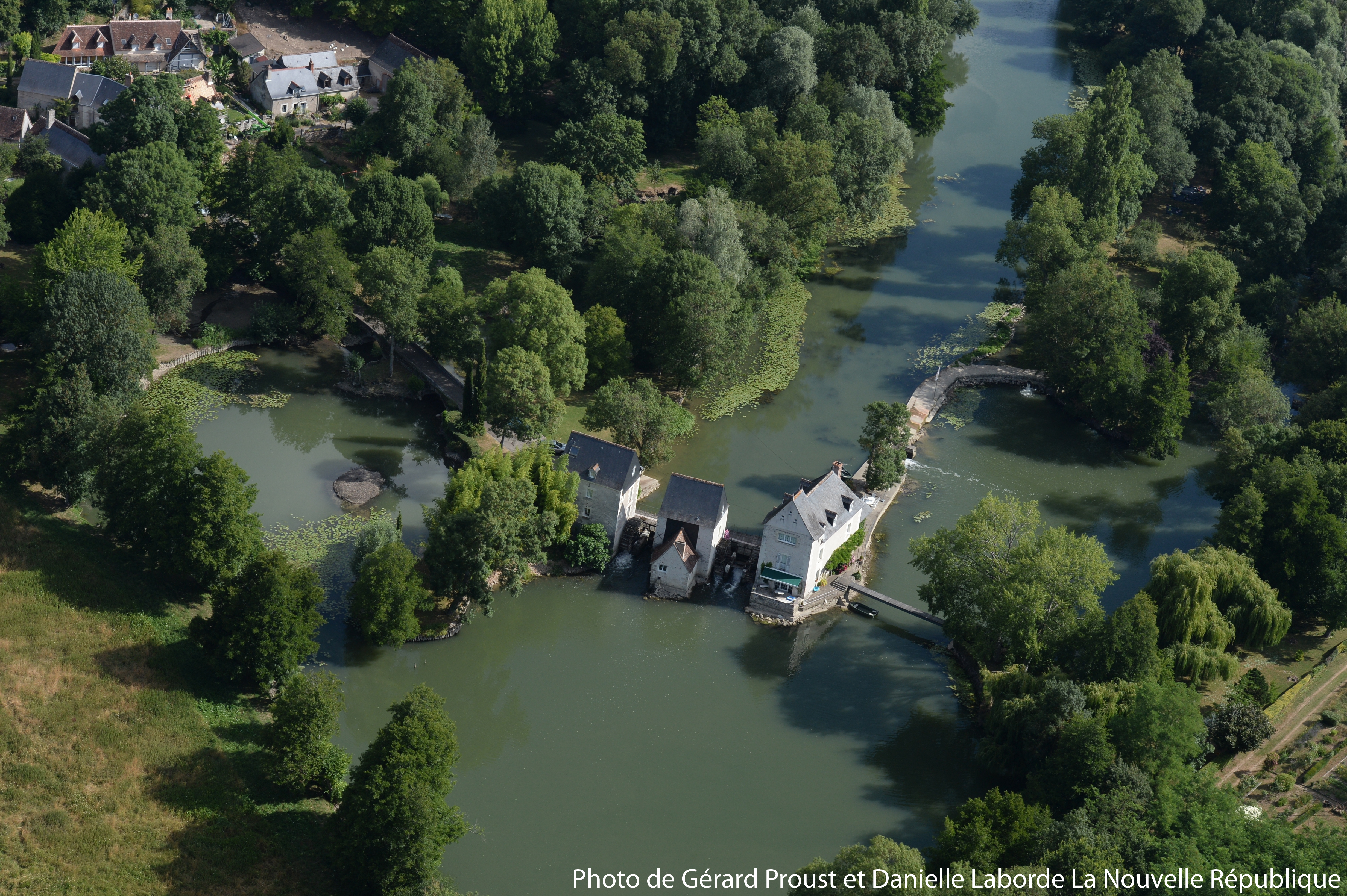 charming renovated water mills for sale on the river indre with