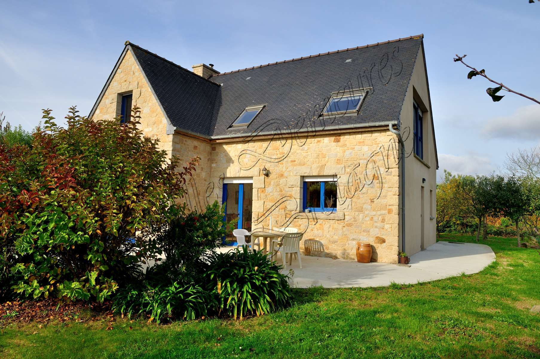 Huis Modern Huis : Te koop modern huis in de buurt van de kust côtes darmor bretagne