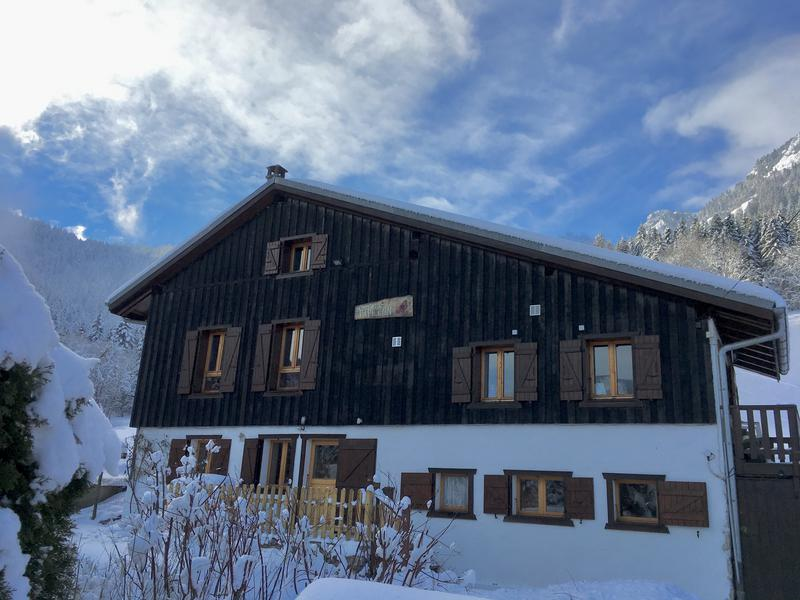 For Sale In La Baume Near Morzine Ski Chalet With Uninterrupted