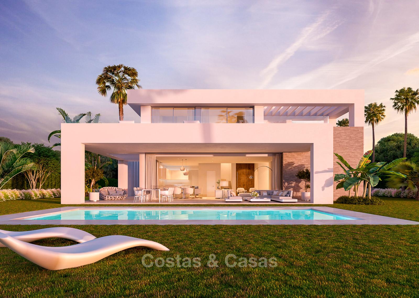 84b8c30ef2 Modern luxury villas for sale in a new development in Mijas