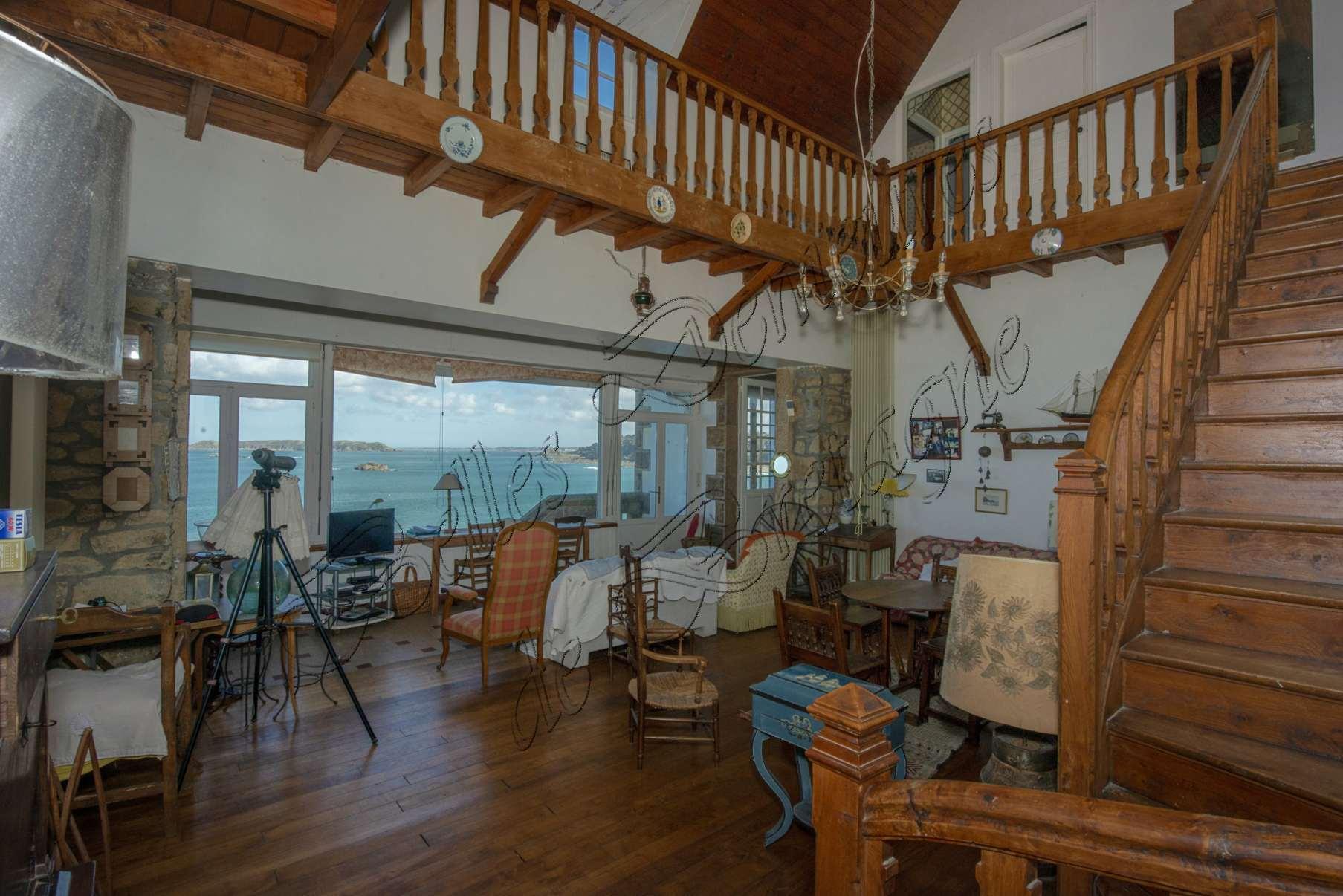 Villa With Breathtaking Sea View For Sale Pink Granite Coast Brittany Moulin