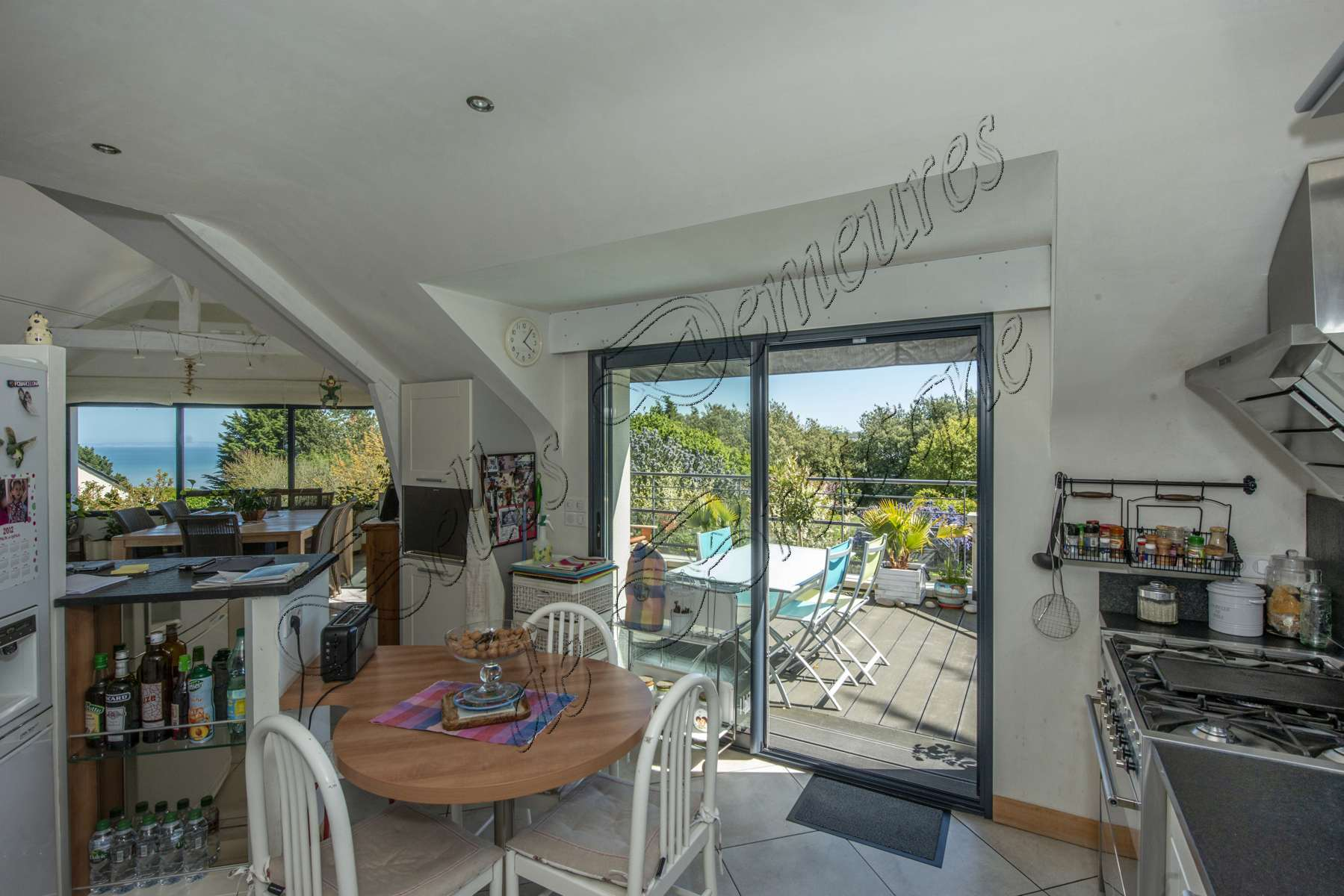 Beautiful contemporary sea view house for sale binic côtes darmor
