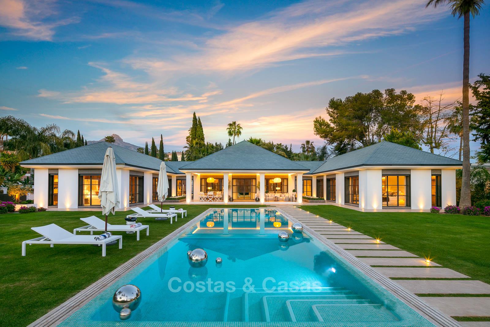Spectaculaire villa de luxe moderne à vendre sur le golf de Las Brisas
