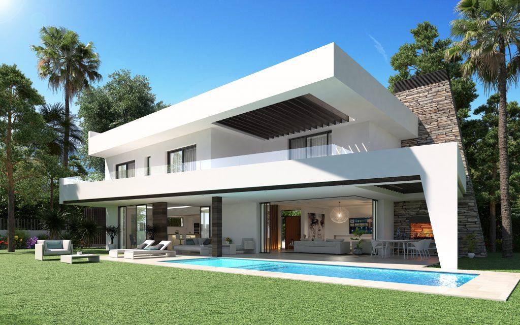 Villa de luxe moderne à vendre au bord de mer, Elviria